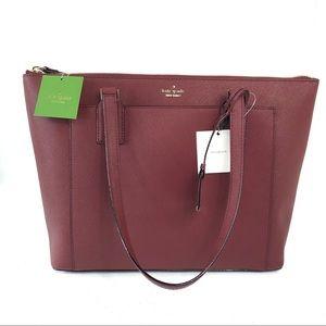 New Kate Spade maroon shoulder bag